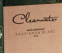 Clearwater Sauvignon Blanc 2010 , 2 liters Bib med god kvalitet!